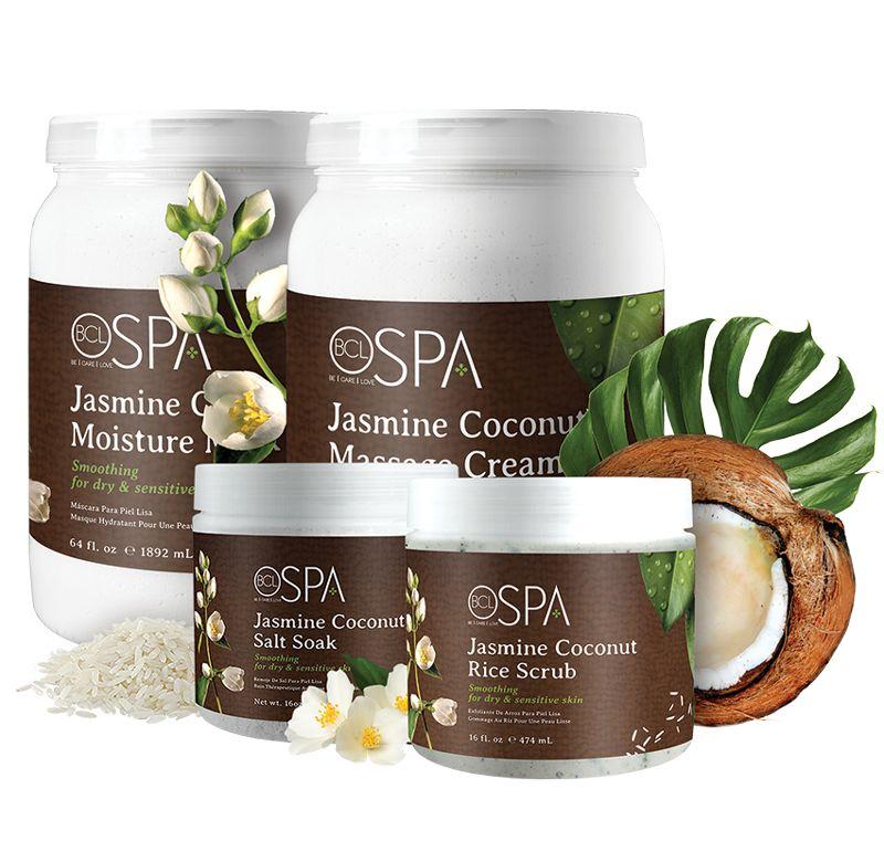 690c1e2e761 SPA-protseduur SPA-kapslis A.N.Studio ilusalongis: naha puhastamine ja  niisutamine (BCL SPA Organic) Jasmine Coconut maskiga.