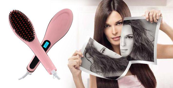 Расческа утюжок для выпрямления волос отзывы