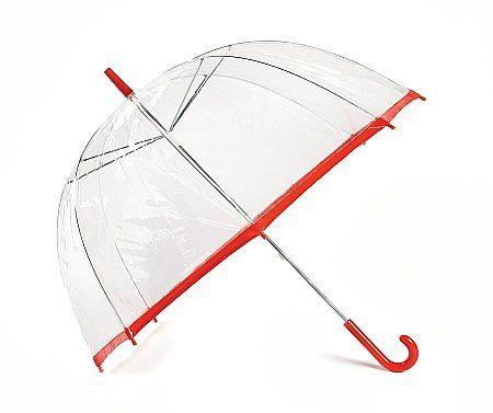1a98e79e710 Stiilne läbipaistev kuplikujuline vihmavari!