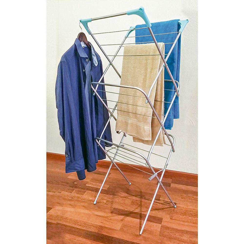 Сушилка напольная стальная сушилка для одежды складная