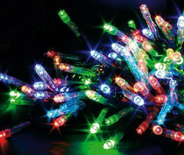 b761f4659bd Mitmevärvilised LED tuledega valgusketid. 10 meetrine 100 tulukesega  valguskett.