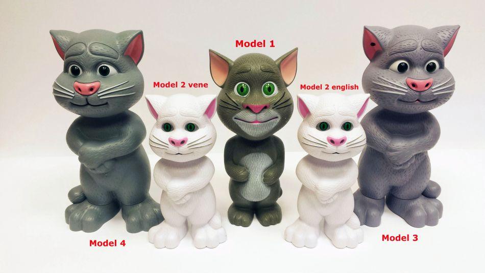 Веселая игрушка кот